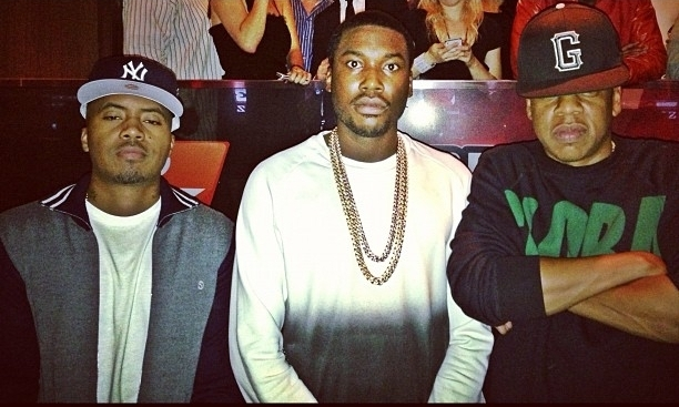 Meek Mill - Lay Up (Remix) Ft. Rick Ross, Trey Songz &amp; Jay-Z (Radio Rip)