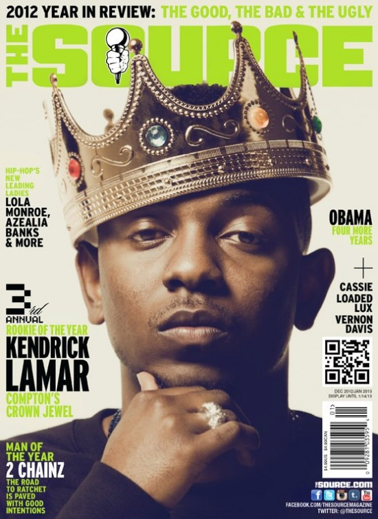 "The Source Magazine Names Kendrick Lamar ""Rookie Of The Year"" (Agree or Disagree?)"