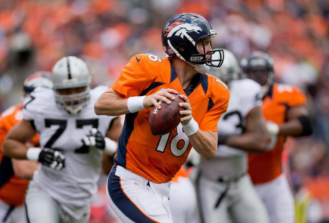 Manning- TNF: Denver Broncos Vs. Oakland Raiders Predictions