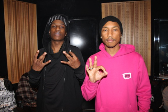 ASAP Rocky - Pretty Flacko (Remix) Ft. Pharrell, Gucci Mane and Waka Flocka Flame