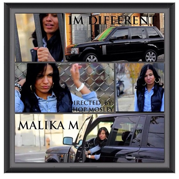 Malika M - Im Different (Video)
