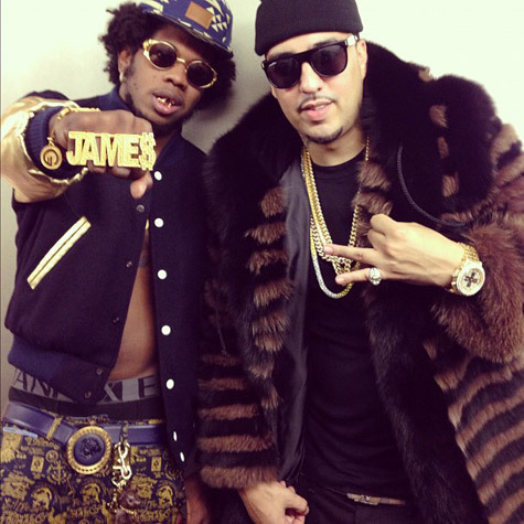 French Montana - All Gold Everything Freestyle