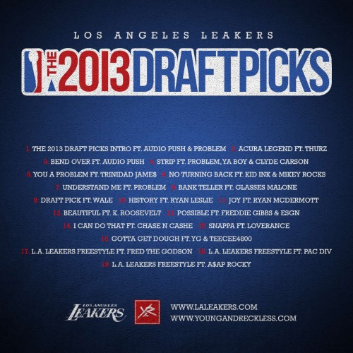 LA Leakers - 2013 Draft Picks (Mixtape)