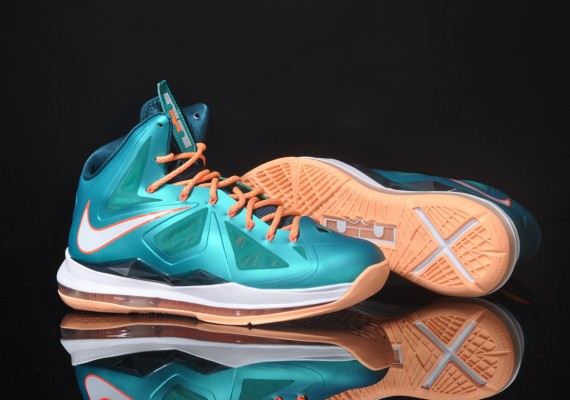 nike Nike Lebron X (Sunset) (Miami Dolphins Tribune) Preview