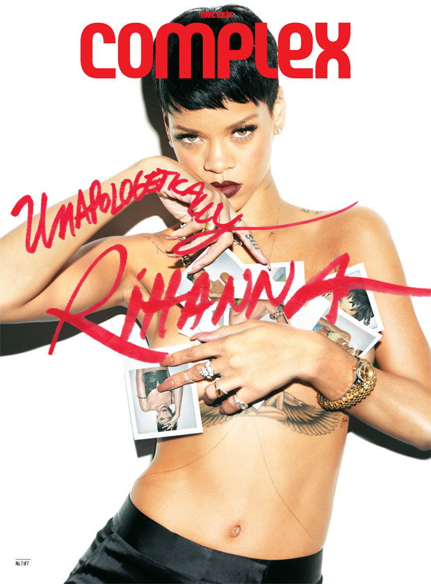 Rihanna 7 Complex Magazine Covers