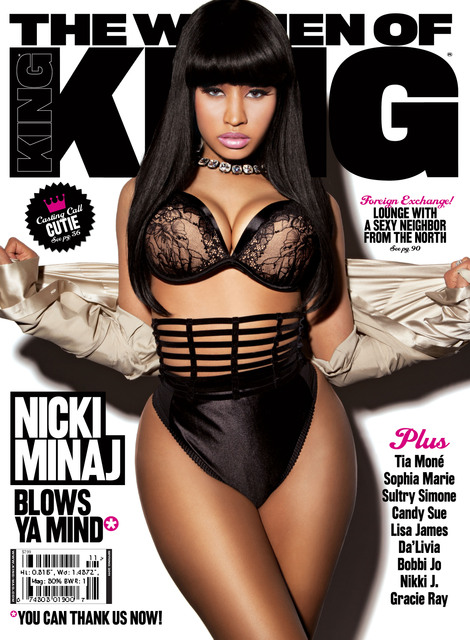 37784936 Nicki Minaj On The Cover Of KING's Mar/Apr 2011 Issue