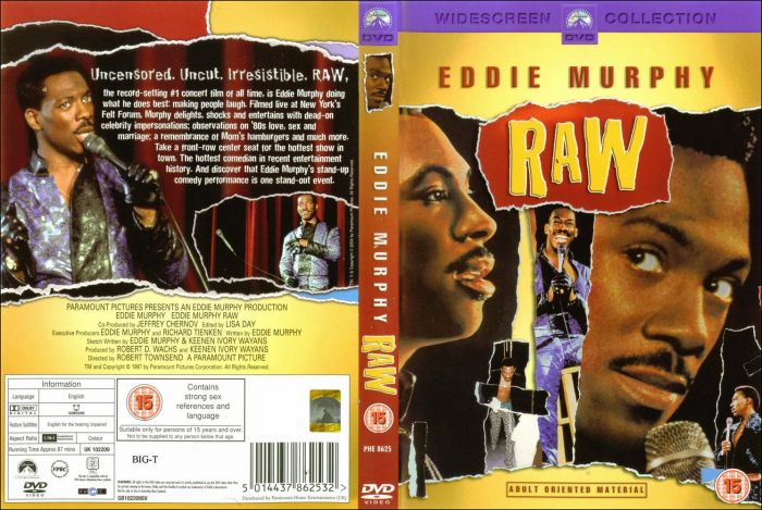 eddie_murphy_raw Eddie Murphy Raw (DVD) (Ready For Your iTunes)