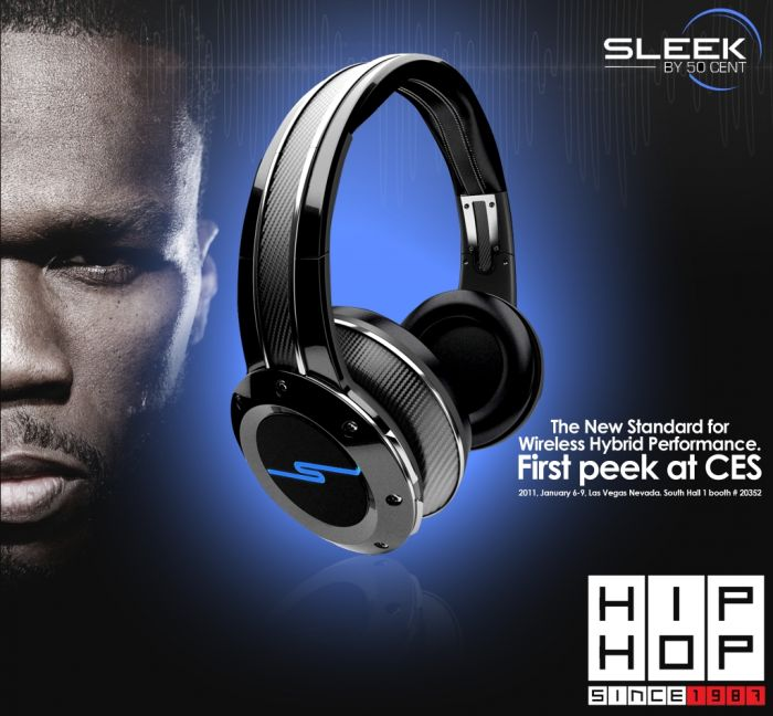 image012 Sleek Audio Wireless Headphones by 50 Cent
