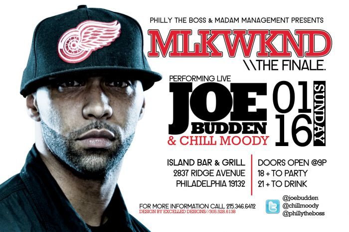 photo Joe Budden x Chill Moody Perform Live in Philly