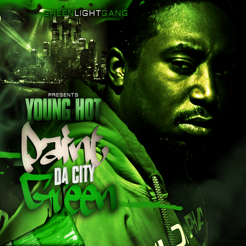 Young_Hot_Paint_The_City_Green-front-large Young Hot - Paint The City Green (Mixtape)