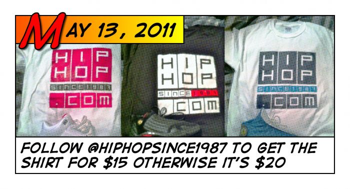 @HipHopSince1987.com T-Shirts For Sale
