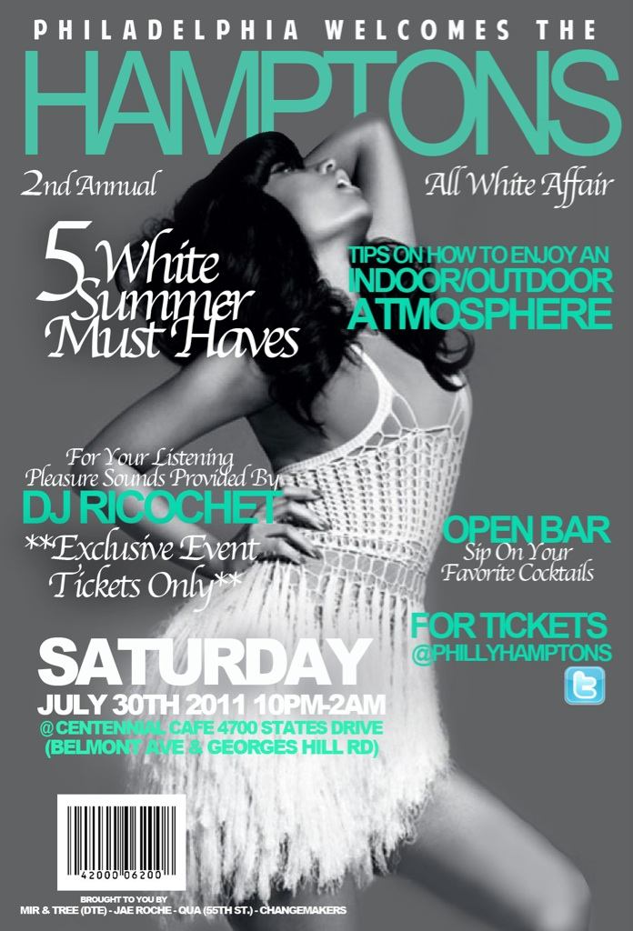 8532 7/30 @PhillyHamptons All White Affair (PICTURES)