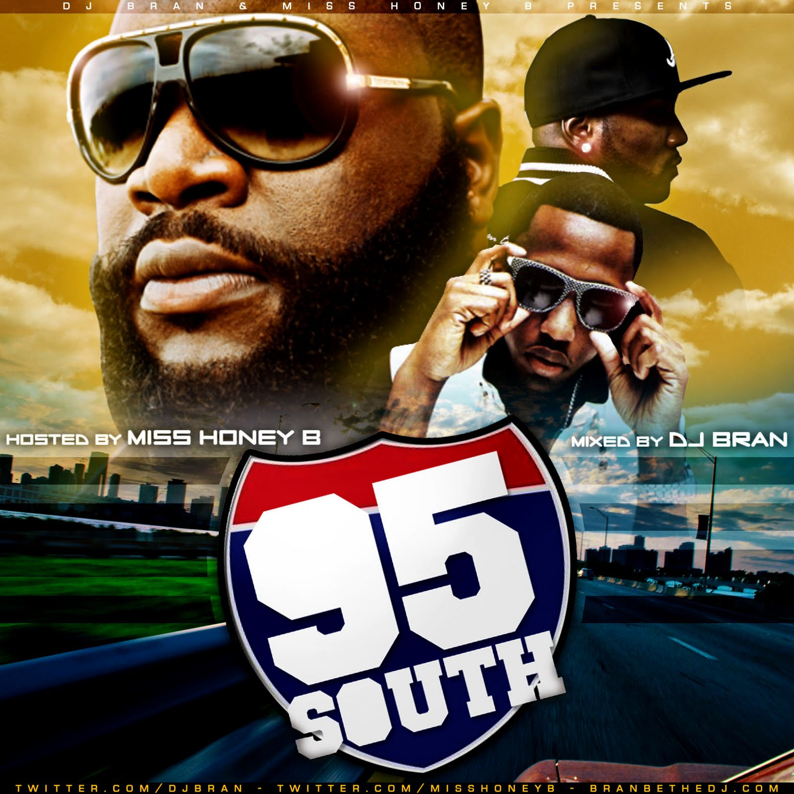 @MissHoneyB x @DJBRAN – 95 South (MIXTAPE)