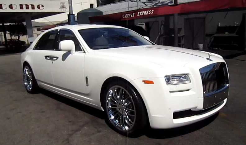 Ice T S 2011 Rolls Royce Ghost On 22 Wheels Video Home Of Hip