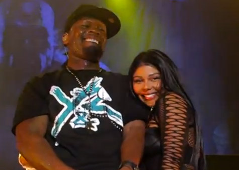 50 Cent (@50Cent) &#038; Lil Kim (@LilKim) Perform Magic Stick Live in Australia (Video)