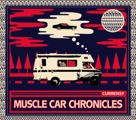 Curreny Muscle Car Chronicles 450x398 Curren$y – N.O. Shit