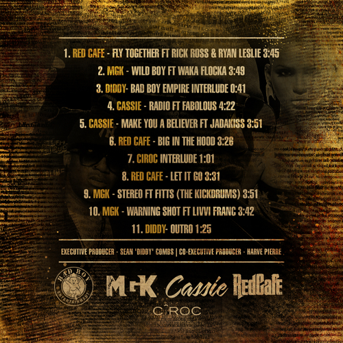 Various_Artists_Bad_Boy_The_Preview-back-large Diddy & Bad Boy Presents - THE PREVIEW (Mixtape) STARRING @machinegunkelly @redcafesd @officialcas