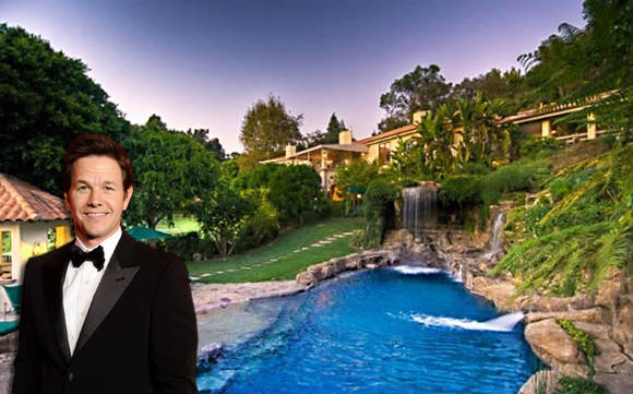 W1 Entourage Producer & Actor, Mark Wahlberg Lists His $14 Million Dollar Beverly Hills Mansion