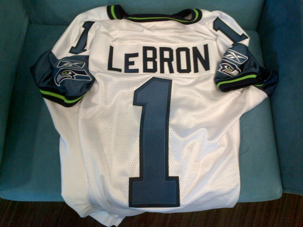 IFWT 26 Lebron James To Play For The Seattle Seahawks???