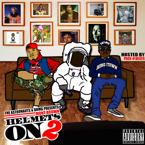 Mont Brown (@MontBrown) &#8211; Helmets On 2 (Mixtape) Hosted by @PaceOBeats