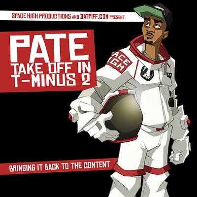 Pate (@SpaceHighPate) – Take Off In T-Minus 2 #TTM2 (Mixtape)