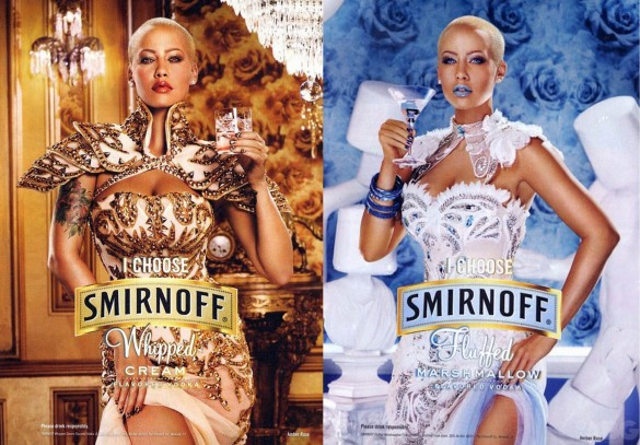 Amber Rose x Smirnoff Commercial (Video)