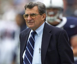 Penn State's Joe Paterno finally set to retire