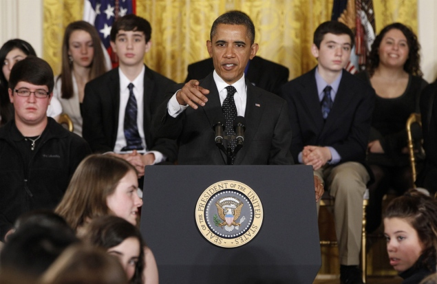 image Obama Waives No Child Left Behind Law Requirements For 10 States