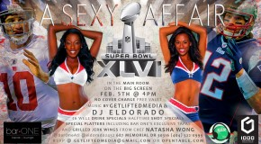 """A Sexy Super Bowl Affair"" @barOneAtl #Atlanta via @eldorado2452"