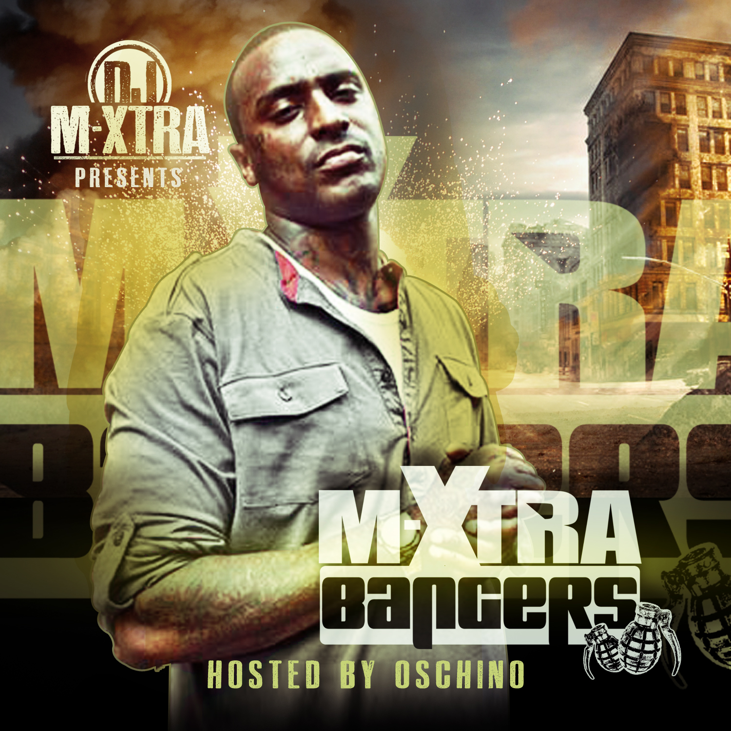 xtra bang @DJMxtra   Bangers Vol 1 Hosted By @Oschino Vasquez (Mixtape)
