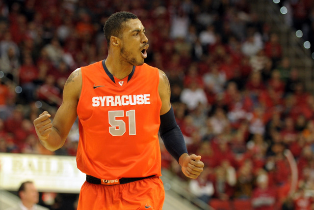 136045411 Syracuse Announces Fab Melo Ineligible For Tournament