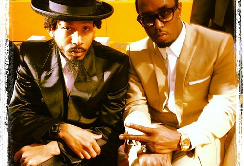 Shyne & Diddy Photo'd Together In Paris During Fashion Week