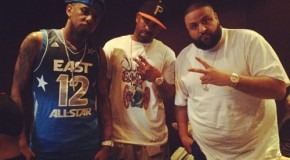 Fabolous, DJ Clue &#038; DJ Khaled In The Studio