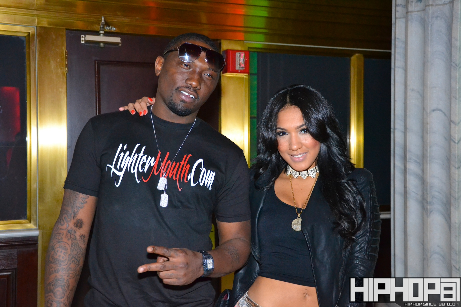 Yaris-Sanchez-3-18-12-8 Yaris Sanchez (@Yaris_Sanchez) Visits Club Onyx In Philly (3/18/12) Photos