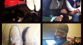 Rick Ross Signs An Endorsement Deal With Reebok