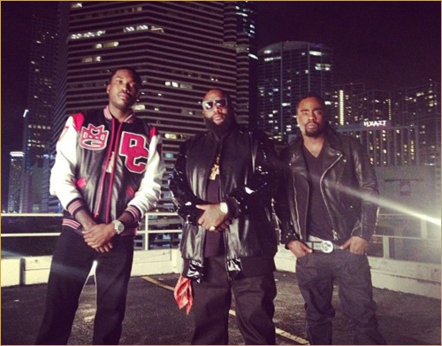 rossmeekwale Rick Ross, Wale, Gunplay & Meek Mill - Same Damn Time (Remix) (Prod by Sonny Digital)
