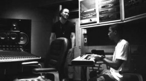 Mike Posner &#038; Pharrell In The Studio (Video)