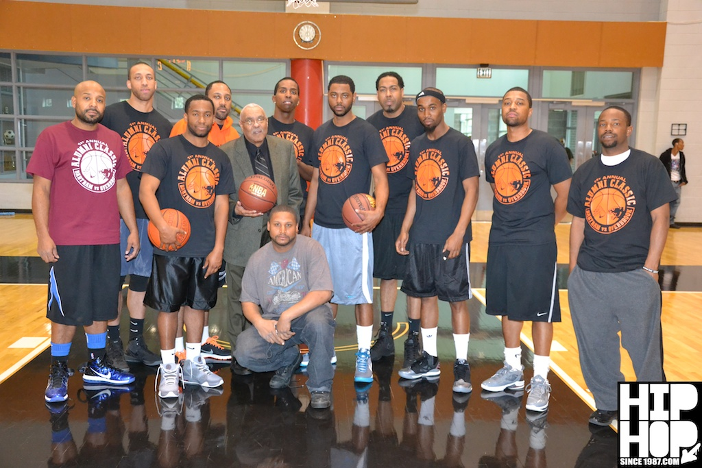 Alumni-Game-2 Overbrook HS vs Bartram HS (Alumni Basketball Game) (Photos + Stats)