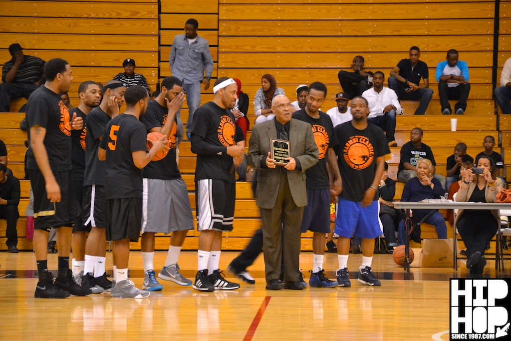 Alumni-Game-42 Overbrook HS vs Bartram HS (Alumni Basketball Game) (Photos + Stats)