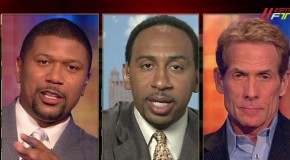 ESPN First Take Debate On Skip Averaging 1.4ppg in High School (Video) (24min HEATED DEBATE!!!!)
