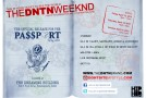 The DNTN Weekend (4/13-4/15): The Official Release for The Passport Collection (@TheDNTNbrand)