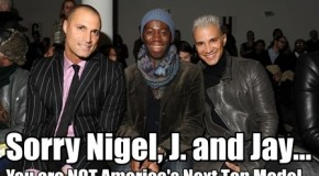 Tyra Banks Fires America's Next Top Model's Nigel Barker, J. Alexander and Jay Manuel