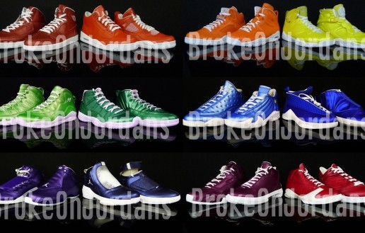 "Air Jordan ""Rainbow"" Pack"