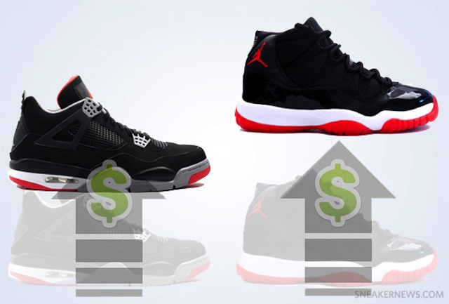 "ar-jordan-xi-iv-bred-priceincreased-prices-for-holiday-2012-HHS1987 Air Jordan XI + IV ""Bred"" Price Increase For The 2012 Holiday Season"