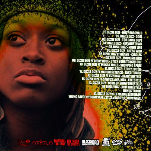 dizzle-dizz-promo-mixtape-we-run-the-streets-2012-HHS1987-Philly-tracklist