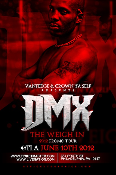 Enter To Win 2 Tickets To See DMX Perform June 10th at The TLA