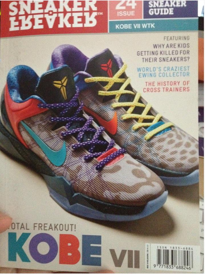 Nike Kobe VII System WTK (Best Kobe & Colorway Out???)