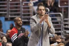 @JoakimNoah a likely No Go for Chicago in Game 5 via @eldorado2452