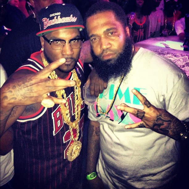 @YoungJeezy &amp; @ToneTrump Down Miami For Memorial Day Weekend (Photos Inside)
