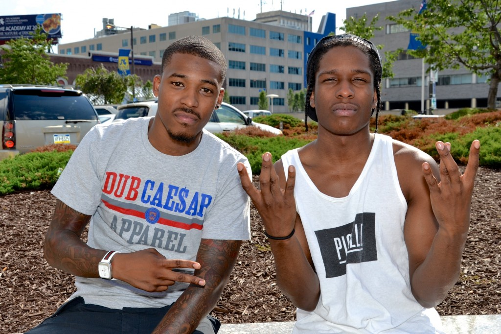 ASAP Rocky, DJ Damage & HipHopSince1987.com Chilling In Philly (6/25/12) (Photos)